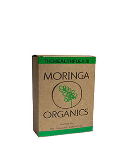 The Healthful Hub Moringa Organics Herbal Tea 70g