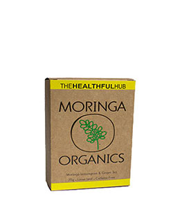 The Healthful Hub Moringa Organics Lemongrass & Ginger Tea 70g
