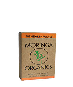 The Healthful Hub Moringa Organics Turmeric & Bee Pollen Tea 70g
