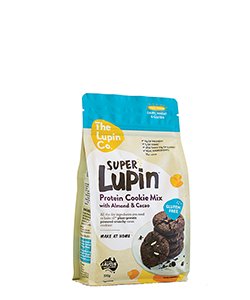 The Lupin Co Super Lupin Protein Cookie Mix with Almond and Cacao 370g