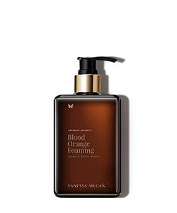Vanessa Megan Blood Orange Foaming Hand and Body Wash 450ml