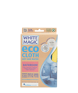 White Magic Eco Cloth Bathroom 32 x 32 cm