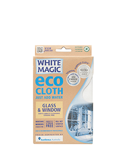 White Magic Eco Cloth Glass & Window 32 x 32 cm