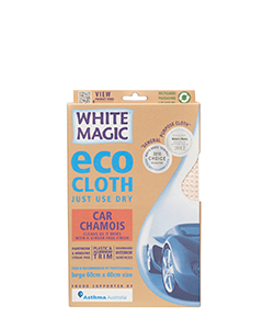 White Magic Eco Cloth Car Chamois Large 60 x 40 cm