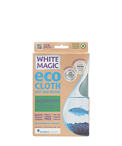 White Magic Eco Cloth Aquarium 32 x 32 cm