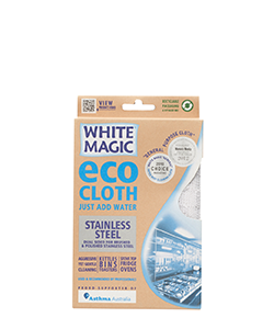 White Magic Eco Cloth Stainless Steel 32 x 32 cm