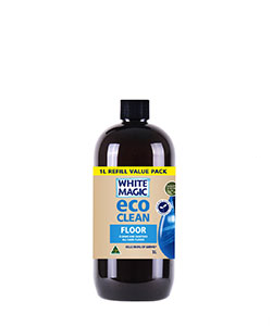 White Magic Eco Clean Floor Solution Refill 1L